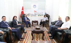 MASİAD Başkanı Güngör, Başkan Güder ile bir araya geldi