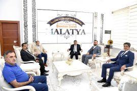 MHP Milletvekili Fendoğlu'ndan Başkan Gürkan'a ziyaret