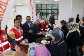 Malatya'da hasta yakınları için iftar