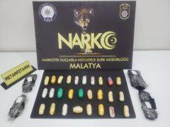 Malatya'da uyuşturucu sevkıyatından 1 tutuklama