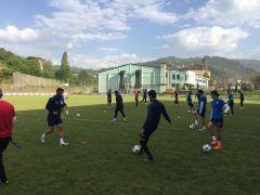 Malatya Yeşilyurt Belediyespor hazırlıklarını Trabzon'da sürdürüyor