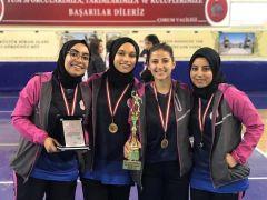Malatya bayan takımı Türkiye şampiyonu oldu