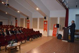 Milli eğitim personeline iş sağlığı semineri verildi