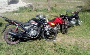 Motosiklet hırsızlarına jandarmadan baskın