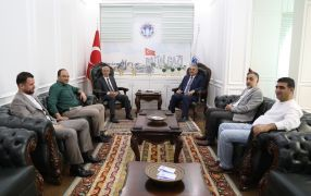 Muhasebeciler Odası'ndan Başkan Güder'e ziyaret