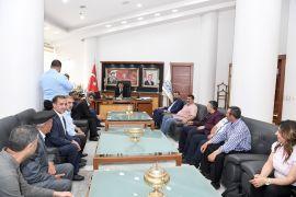 STK'lardan Gürkan'a ziyaretler