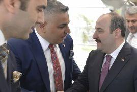 Sadıkoğlu, Bakan Varank ile görüştü