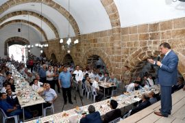 Başkan Gürkan Hekimhan'da incelemelerde bulundu
