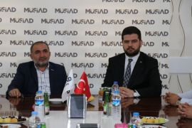 Başkan Yardımcısı Esen'den MÜSİAD'a ziyaret