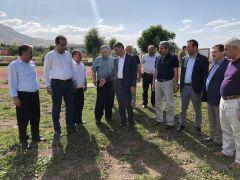 Evkur Yeni Malatyaspor'a yapmayı düşündüğü yeni tesisler için destek