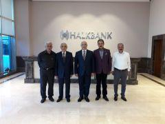 Evren'den Halk Bankası Genel Müdürü Arslan'a ziyaret