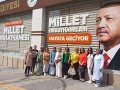 MİAD'lı kadınlar Yeşilyurt'a hayran kaldı