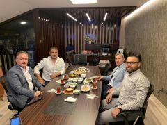 Malatya İdmanyurdu Onursal Başkanı Teoman Mutlu, Yeşilyurt Belediyespor için görüştü