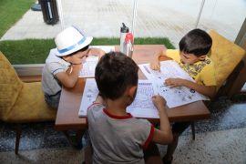 Millet Kıraathanesi anaokulu öğrencilerini ağırladı