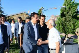 Milletvekili Tüfenkci Kiraz Festivalinde