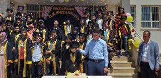 Pütürge'de ayran şenliği ve mezuniyet töreni