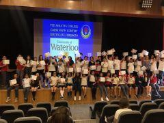 TED' li öğrencilerin uluslararası başarısı