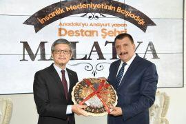 Tayvanlı bürokrattan Gürkan'a ziyaret