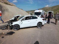 Tünel girişinde kaza: 6 yaralı