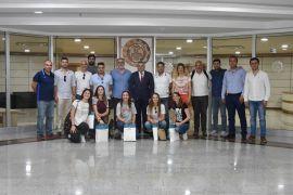 Yabancı öğrencilerden MTSO'ya ziyaret