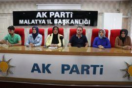 AK Parti Malatya Kadın Kollarından Srebrenitsa tepkisi