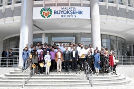 Başkan Gürkan, AK Partili gençleri kabul etti