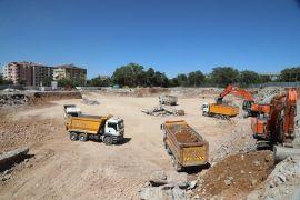 Battalgazi Devlet Hastanesi'nin temel kazı çalışmaları sürüyor