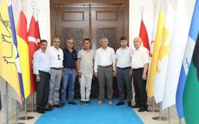 Bingöllüler Derneği'nden Başkan Güder'e ziyaret