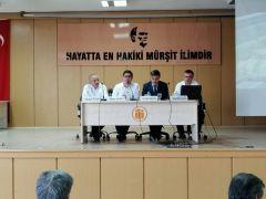 'Türkiye'de Darbeler, Yerel Basın ve 15 Temmuz' paneli düzenlendi