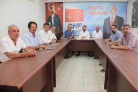 CHP  İl Başkanı Kiraz il başkanlar toplantısını değerlendirdi