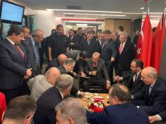 Adil Gevrek, 'Futbol Köyü' projesiyle ilgili Cumhurbaşkanı Erdoğan'a dosya sundu