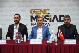Başkan Çınar, Genç MÜSİAD'ın konuğu oldu