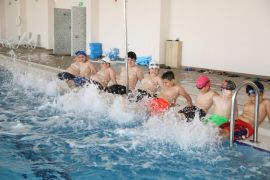 Battalgazi Belediyesinden 'Okuldan Havuza Kulaç At' projesi