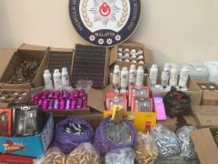 Malatya'da kaçak parfüm operasyonu
