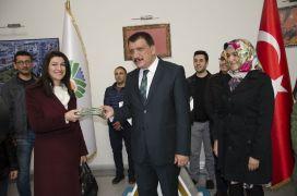 Öğretmenlerden Başkan Gürkan'a  ziyaret