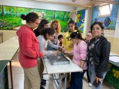 """Ortaokul öğrencileri ve down sendromlular """"Suyun Gücü"""" projesinde buluştu"""