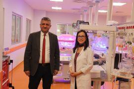Prematüre bebekler için etkinlik düzenlendi