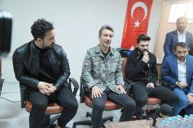 Yeni Malatyaspor'da Ali Ravcı ve Eren Tozlu öğrencilerle bir araya geldi