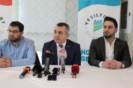 AK Parti İl Başkanı İhsan Koca basın mensuplarıyla bir araya geldi