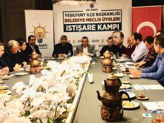 AK Parti istişare kampı düzenlendi