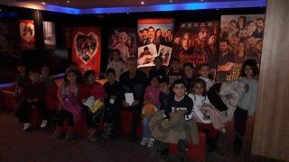 Arguvanlı çocuklar sinemayla buluşuyor