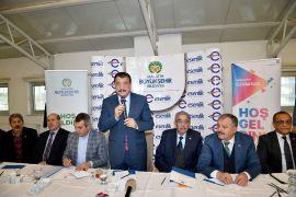 Başkan Gürkan, muhtarların sorunlarını dinledi