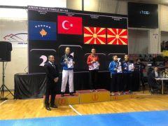 Fatma Uygur, Balkan şampiyonu oldu