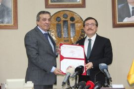 İnönü Üniversitesi, 'Kalite Yönetim Sistem Belgesi' almaya hak kazandı