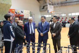 Malatya'da Beden Eğitimi Ve Spor Materyalleri sergisi
