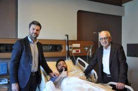 Yeni Malatyaspor'da Eren Tozlu ameliyat oldu