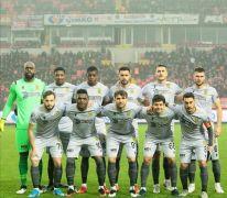Yeni Malatyaspor'un ilk yarı rakamları