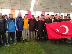 Fethi Sekin anısına halı saha turnuvası