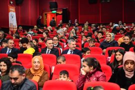 'Haydi Çocuklar Sinemaya Gidiyoruz' etkinliği
