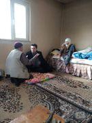 Kaymakamdan yaşlı ve hastalara ziyaret